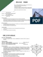 Obras de Concreto Armado 1er Nivel de Aprendizaje -Daniel Alexander Avila Diaz