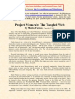 Project Monarch the Tangled Web