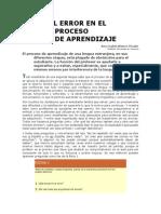 El Error en El Proceso de Aprendizaje_blanco Picado