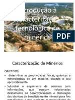 Introdução à caracterização tecnológica de minérios