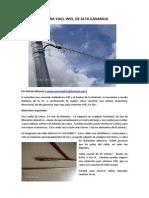 construcción antenas internet wifi