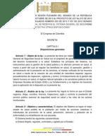 Definitivo Reforma Salud Aprobado Plenaria Senado Pl 210 - 13 Salud
