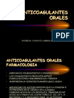 ANTICOGULANTES ORALES