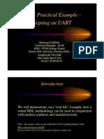 Design UART Using VHDL