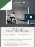 Resumen- esquema LA GUERRA CIVIL DE ESP+æA