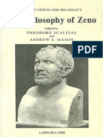 The Philosophy of Zeno (Sample) - Theodore Scaltsas