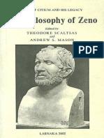 The Philosophy of Zeno (Sample) - Theodore Scaltsas