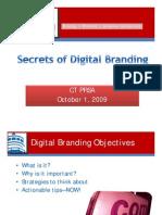 Digital Branding-Presented 10-21-09