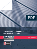 Twinson Composite Decking Installation
