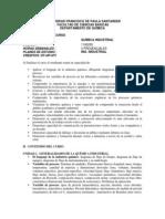 Programa Asignatura Quimica Industrial (1)