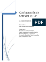 Configuracion de Servidor DHCP
