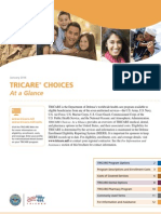 TRICARE Choices at a Glance
