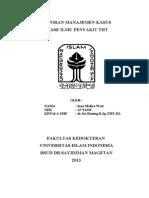 laporan kasus Peritonsilar Abses