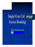 Cable Screen Bonding