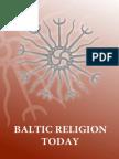 Baltic Religion Today Jonas Trinkunas