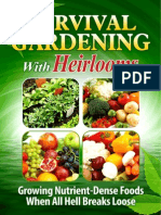 Survival Gardening With Heirlooms eBook