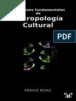 Boas, Franz - Cuestiones Fundamentales de Antropologia Cultural [11662] (r1.0)