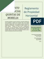 Reglamento Propiedad Horizontal Quintas de Morelia