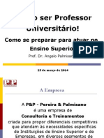 Palestra Professor Universitário