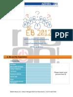 02. EB 2012_Application Questionnaire