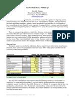 Economics of Sheep Production 2-25-08