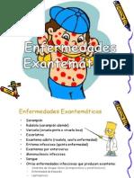 ENFERMEDADES EXANTEMATICAS PEDIATRIA