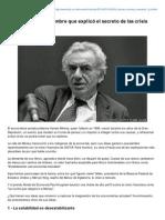 Bbc.co.Uk-Hyman Minsky El Hombre Que Explic El Secreto de Las Crisis Financieras