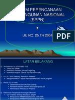 Bab-XI Sistem Perencanaan Pembangunan Nasional