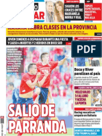 Tapa Diario Popular 30-03-2014