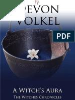 Devon Volkel author of A Witch's Aura