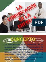 1 Comunicacion y La Empresa