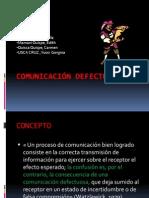5 Comunicación Defectuosa