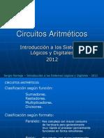 Tema 8 Circuitos Aritmeticos 2012