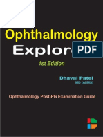 Ophthalmology Explorer 1st Edition