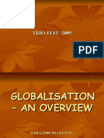 GLOBALISATION – AN OVERVIEW