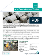 QHelp a Simple Guide to Concrete Cube Testing