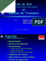 Aceites Usados Presentación en La Serena-Julio 2001