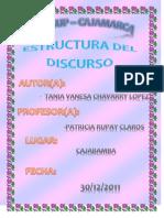 Monografia de La Estructura Del Discurso