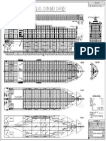 5400 TEU general arrangement