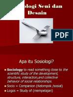 Sosiologi Desain (sesi 1 & 2)