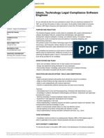 Intern, Tech Legal Compliance Soft Eng (Amy)