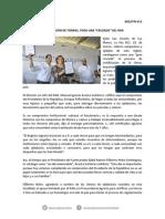 """28-03-14 013 BOLETÍN - CERTIFICACIÓN DE TIERRAS, TODA UNA """"CRUZADA"""" DEL RAN"""