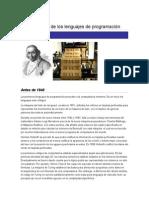 Laura Esther Cerros - Generaciones de los lenguajes de programación