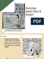 Sociology in Art & Design- Sesi 1