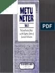Metu Neter Volume 1 by Ra Un Amen Nefer Smaller