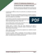 Aplicaciones Educativas de Las Redes Sociales Trabajo #20
