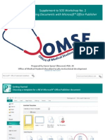 SOS Guide No. 02 Microsoft Office Publisher