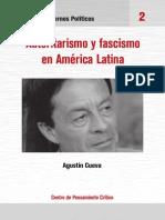 Agustín Cueva-Fascismo y autoritarismo en América Latina