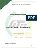 Reporte de La Unidad 1- Inspeccion Visual.