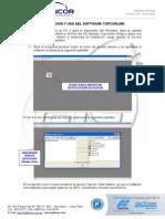 Uso Del Software Topcon Link